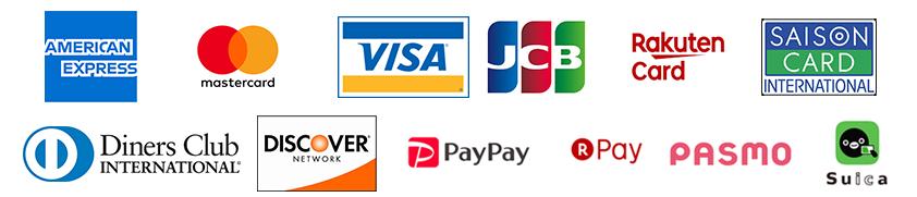 対応クレジット